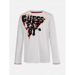 Тениска Guess с дълъг ръкав