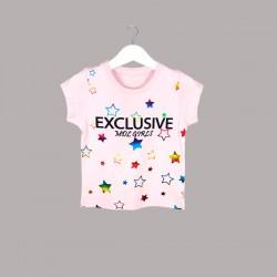 Детски комплект Keiki с тениска къс ръкав икъс клин за момичета. - 52230-005 - view 3
