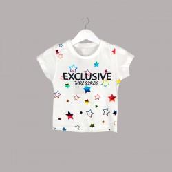 Детски комплект Keiki с тениска къс ръкав икъс клин за момичета. - 52230-014 - view 2