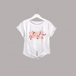 Детски комплект Keiki с тениска къс ръкав икъс клин за момичета. - 54741-001 - view 2