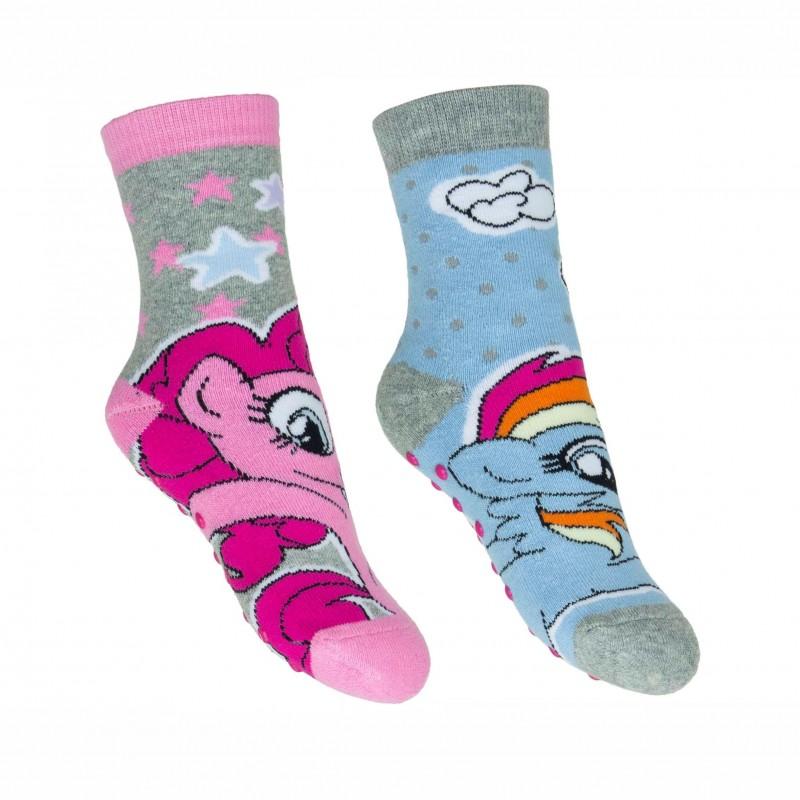 Комплект 2 чифта чорапиMy Little Pony (Малкото Пони) за момичета. - Pony badstof 2 pack-23 - view 1