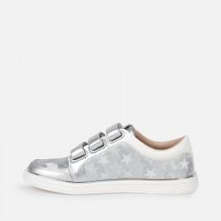 Спортни ежедневни обувки с велкро и звезди за момиче - 45135-050 - view 2