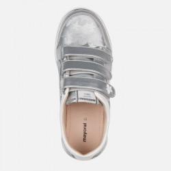 Спортни ежедневни обувки с велкро и звезди за момиче - 45135-050 - view 3