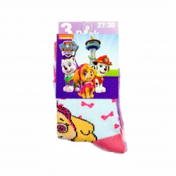 Комплект 3 чифта чорапиPaw Patrol (Пес Патрул) за момичета. - HQ0825-2-27 - view 2