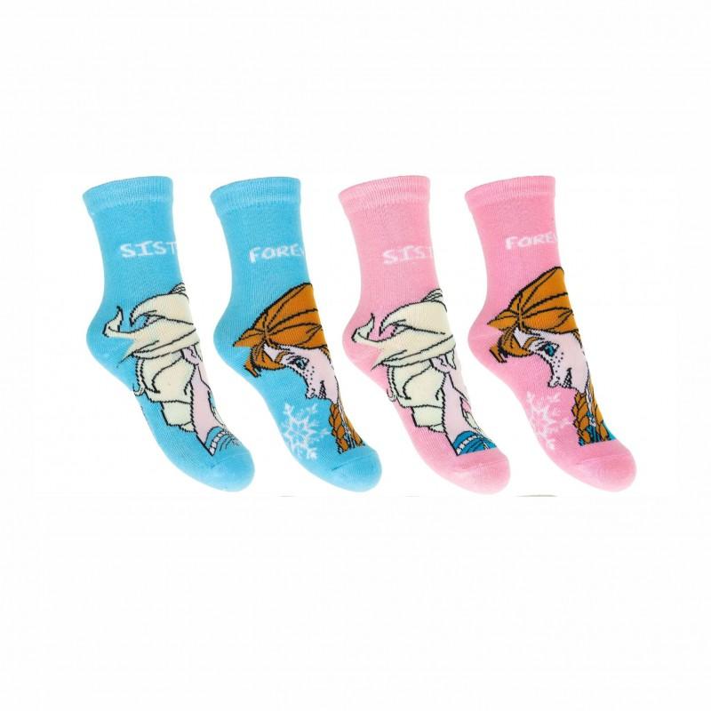 Комплект 2 чифта чорапиFrozen (Замръзналото кралстео) за момичета. - RH0734-1-23 - view 1
