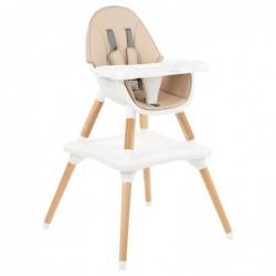 Дървен стол за хранене...
