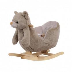 Люлка със седалка Beige Bear