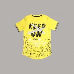Детски комплект Keiki с тениска къс ръкав и къси панталони за момчета. - 50692-009-140 - view 2