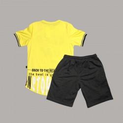 Детски комплект Keiki с тениска къс ръкав и къси панталони за момчета. - 50692-009-140 - view 4