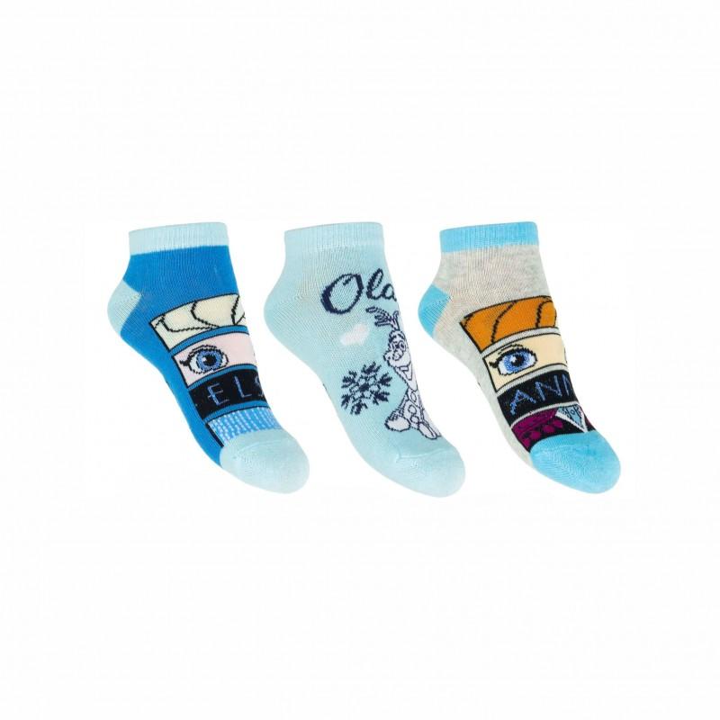 Комплект 3 чифта чорапиFrozen (Замръзналото кралство) за момичета. - SE0609-1-23 - view 1