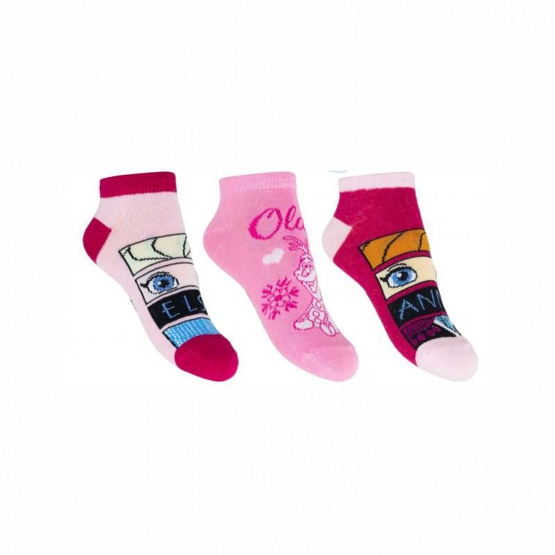 Комплект 3 чифта чорапиFrozen (Замръзналото кралство) за момичета. - SE0609-2-23 - view 1