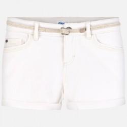 Къси панталони тип шорти с колан за момиче - 275-058 - view 2