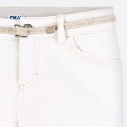 Къси панталони тип шорти с колан за момиче - 275-058 - view 3