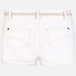 Къси панталони тип шорти с колан за момиче - 275-058 - view 4