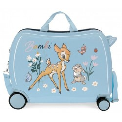 Твърд светлосин куфар Bambi...