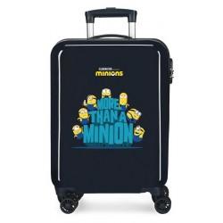 Твърд тъмносин куфар Minion...