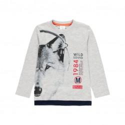 Тениска Boboli с дълъг ръкав - 503008-8034 - view 1