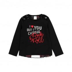 Тениска Boboli с дълъг ръкав - 433022-890 - view 1