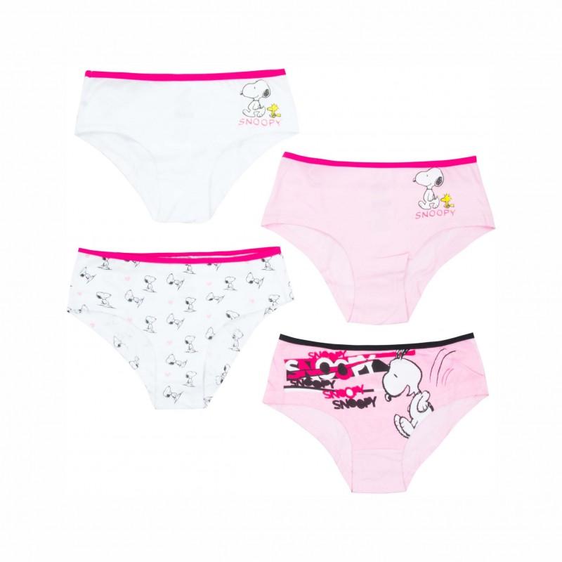 Детски комплект 4бр.бикини Snoopy (Снупи) за момичета. - RH8013.A17-122 - view 1
