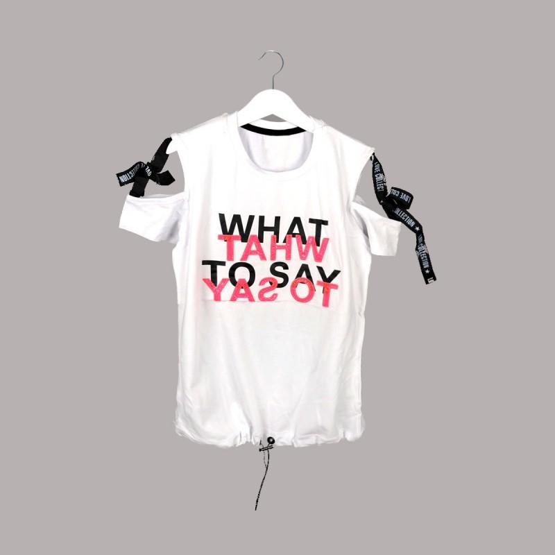 Детска тениска Keiki с къс ръкав за момичета. - 53875-001 - view 1