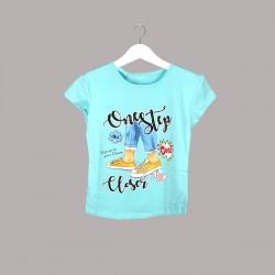 Детска тениска Keiki с къс ръкав за момичета. - 54025-033 - view 1