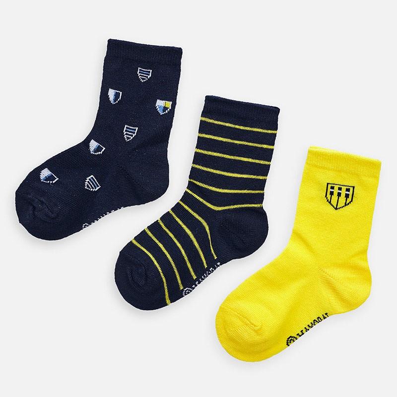 Комплект чорапи с щитове за момче - 10782-068 - view 1