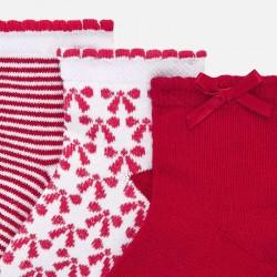 Комплект чорапи с щампи за бебе момиче - 10739-060 - view 2