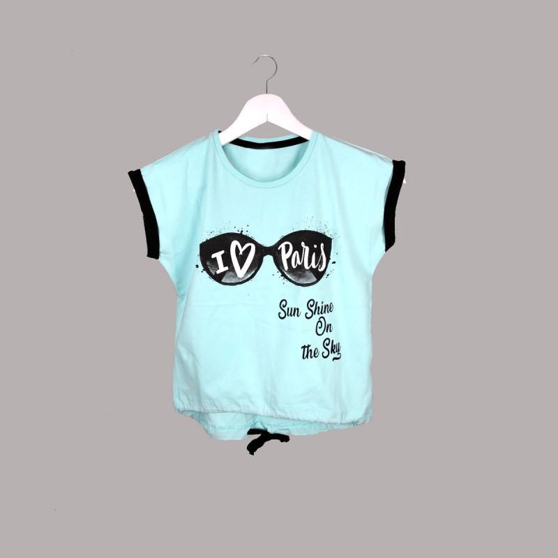 Детска тениска Keiki с къс ръкав за момичета. - 51940-045 - view 1