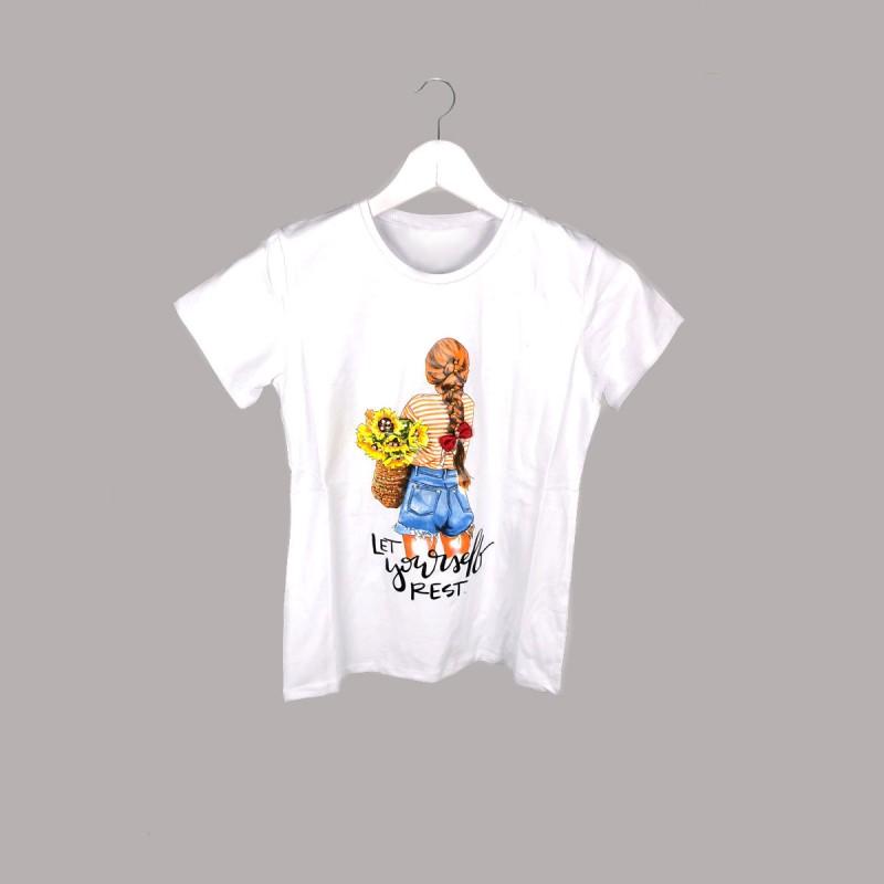 Детска тениска Keiki с къс ръкав за момичета. - 52816-001 - view 1