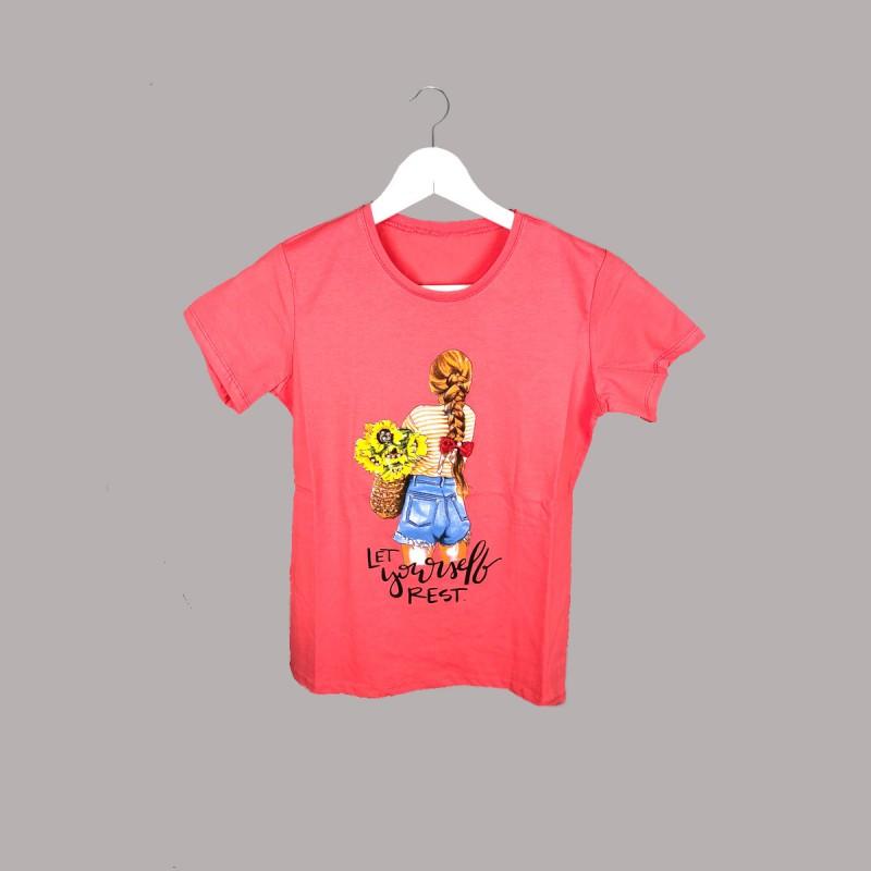 Детска тениска Keiki с къс ръкав за момичета. - 52816-021 - view 1