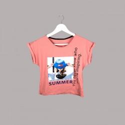 Тениска Keiki с къс ръкав - 51033-048 - view 1