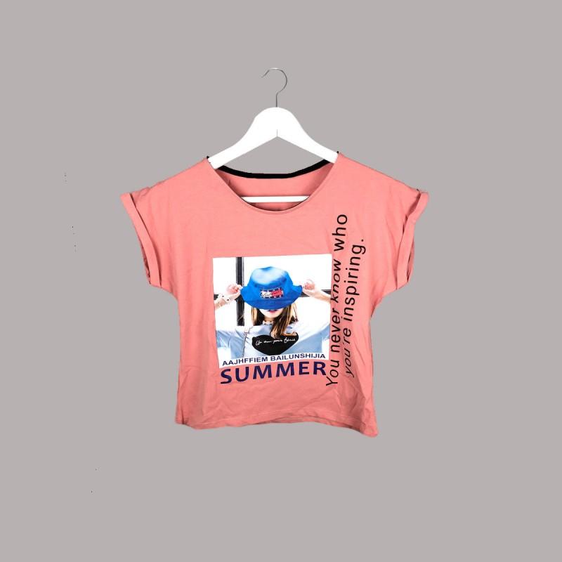Детска тениска Keiki с къс ръкав за момичета. - 51033-048 - view 1