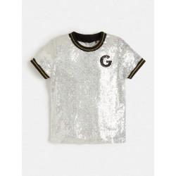 Тениска Guess с къс ръкав - J1BI29WCZJ0SLVR - view 1