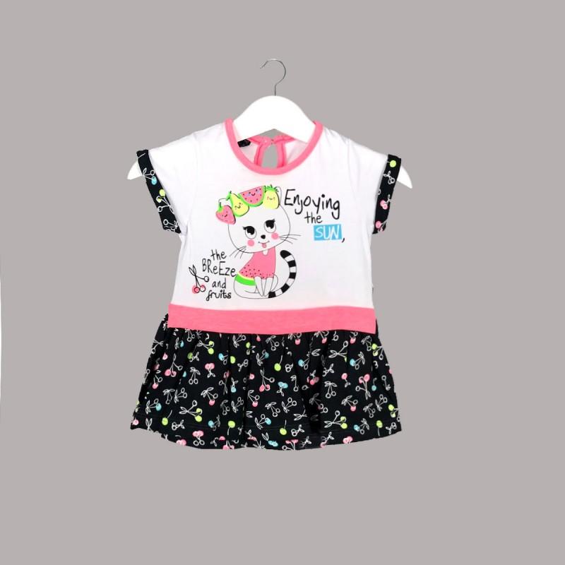 Детска рокля Enfant за бебе момиче. - 54444-048 - view 1