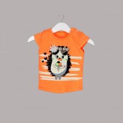 Детски комплект Enfant с тениска къс ръкав ипанталони за бебе момиче. - 52657-003 - view 2