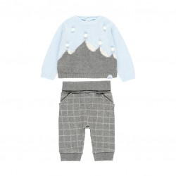 Комплект Boboli с пуловер и...
