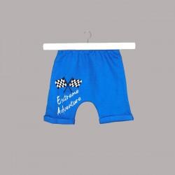 Детски комплект Enfant с боди къс ръкав и къси панталони за бебе момче - 54614-043 - view 2