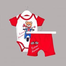 Комплект Enfant с боди къс... - 54614-022 - view 1