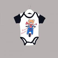 Детски комплект Enfant с боди къс ръкав и къси панталони за бебе момче - 54614-046 - view 2