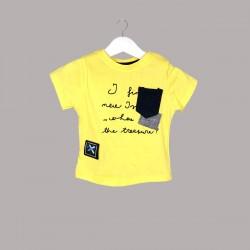 Детски комплект Enfant с тениска къс ръкав и къси панталони за бебе момче. - 54731-009 - view 2