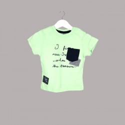 Детски комплект Enfant с тениска къс ръкав и къси панталони за бебе момче. - 54731-024 - view 2