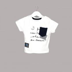 Детски комплект Enfant с тениска къс ръкав и къси панталони за бебе момче. - 54731-014 - view 2