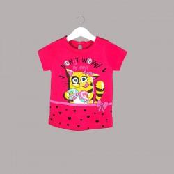 Детски комплект Enfant с тениска къс ръкав и клин за бебе момиче - 51047-004 - view 2