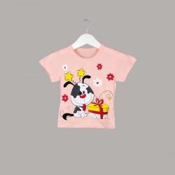 Детски комплект Enfant с тениска къс ръкав и клин за бебе момиче - 51167-006 - view 2