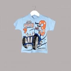 Детски комплект Enfant с тениска къс ръкав и къси панталони за бебе момче. - 53180-032 - view 2