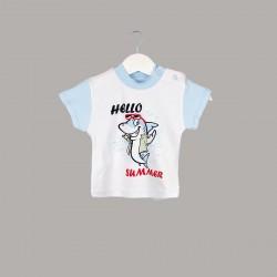 Детска тениска Enfant с къс ръкав за бебе момче - 54695-032 - view 1