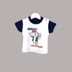 Детска тениска Enfant с къс ръкав за бебе момче - 54695-046 - view 1