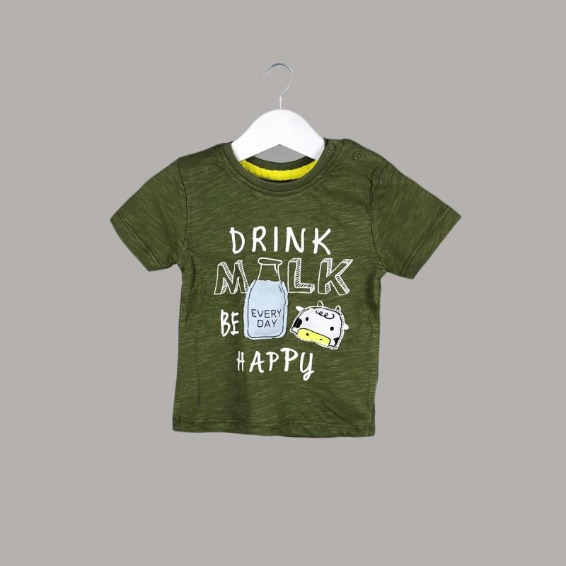 Детска тениска Enfant с къс ръкав за бебе момче - 51237-040 - view 1