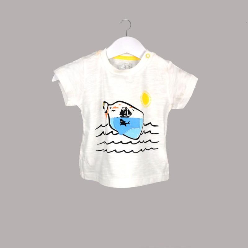 Детска тениска Enfant с къс ръкав за бебе момче - 52325-014 - view 1