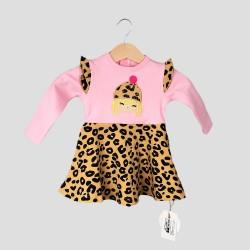 Бебешка рокля Organic Kid с гащички за момичета. - 10385-001 - view 2
